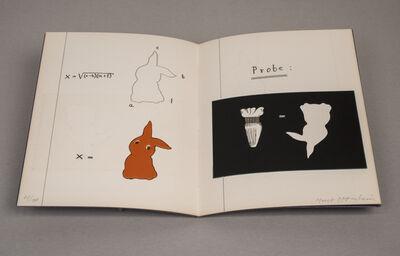Méret Oppenheim, 'Schoolgirl's Notebook (Le Cahier d'une Écolière)Edition 41/100', 1973