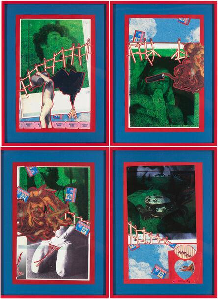 Christian Holstad, 'Burning scented bridges in order 2(x)ist (four panels)', 2005-06
