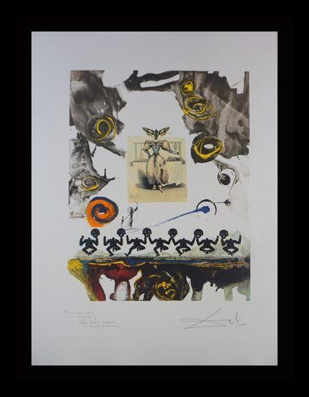 Salvador Dalí, ' Memories of Surrealism Surrealist Gastronomy Trial Proof', 1968