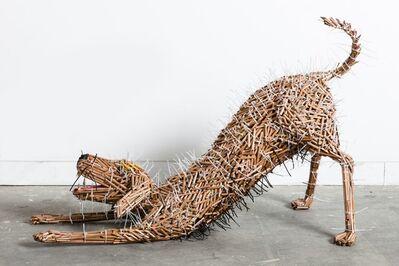 Federico Uribe, 'Stretching Dog', 2014