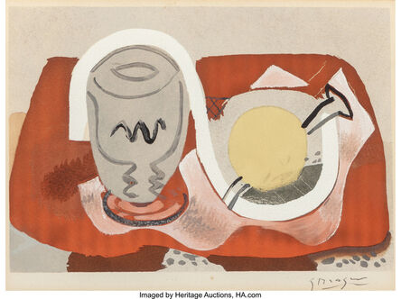 Georges Braque, 'Still life with lemon', 1934