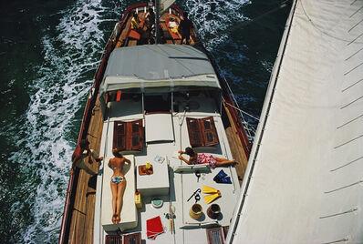 Slim Aarons, 'Deck Dwellers', 1967