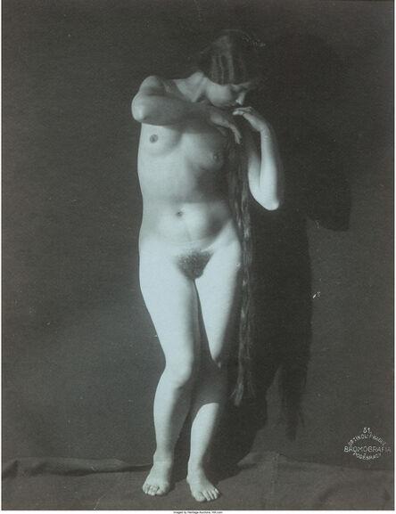 Frantisek Drtikol, 'Blue Nude', circa 1920s