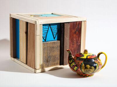 Roberto Lugo, 'Marian Anderson Teapot and Box Set', 2021