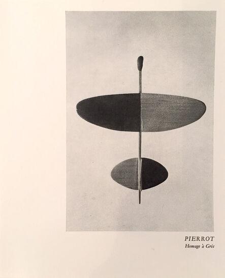 Ian Hamilton Finlay, 'Pierrot', 1975