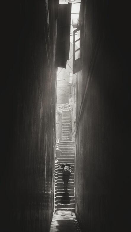 James Chung 鍾文略, 'Concubine Lane', 1969