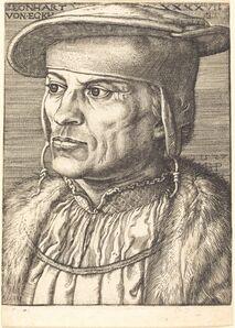 Barthel Beham, 'Leonhard von Eck', 1527