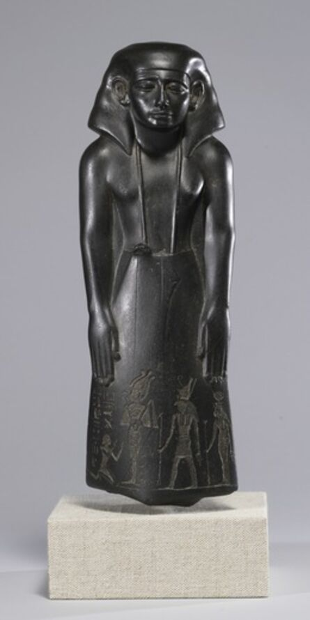'Statue of a Vizier, Usurped by Pa-di-iset', ca. 1780-1700 B.C.