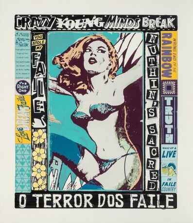FAILE, 'The Right One, Happens Everyday', 2014