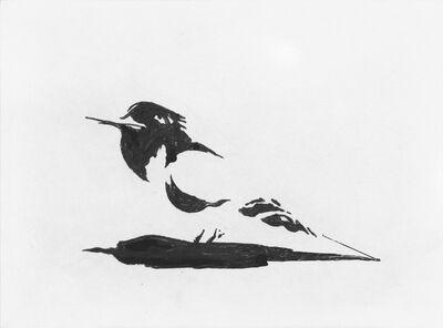 Wayne Thiebaud, 'Dark Bird', 2015