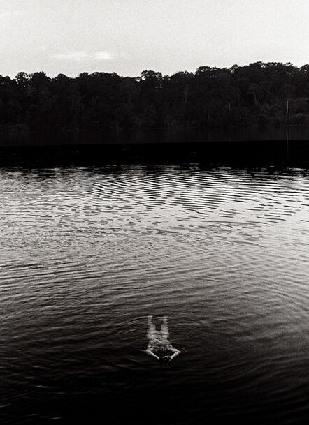 Chris Dawes, 'Figure In Lake - Ratanakiri'