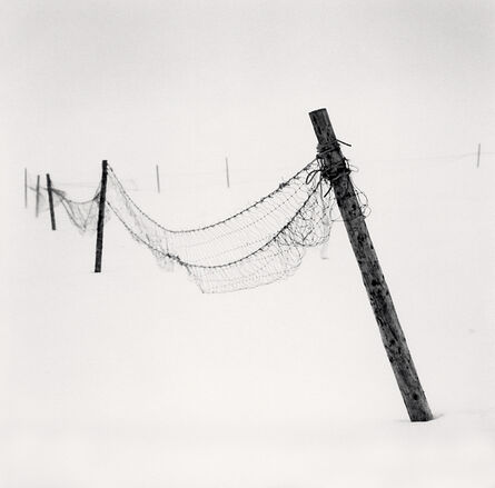 Michael Kenna, 'Inclined Posts, Lake Akan, Hokkaido, Japan', 2015