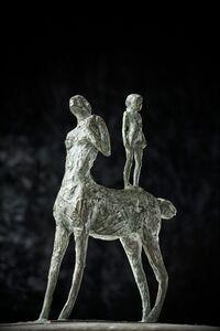 Verónica Fonzo, 'Centaura con niña', 2018