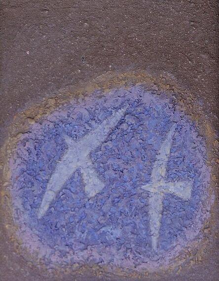 Michael Bennett (1934-2016), 'First study for Bird-Blue Tarn series', 1988