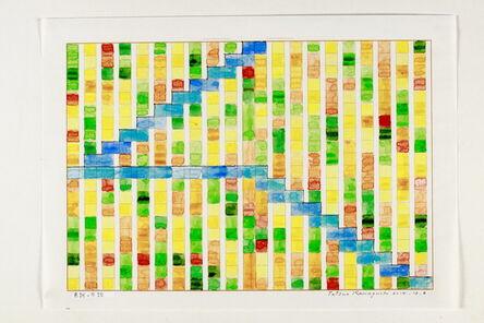 Tatsuo Kawaguchi, 'Tone of Color and  Steps', 2014