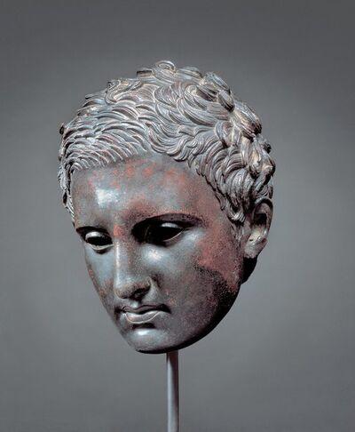 'Head of an Athlete ', 200-1 B.C.