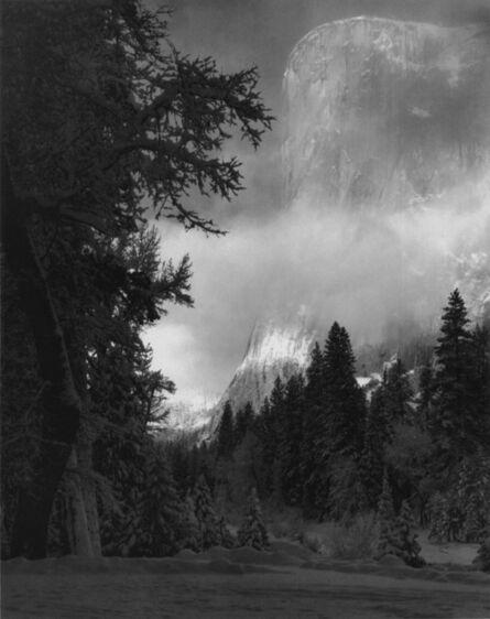 Ansel Adams, 'El Capitan, Sunrise, Winter, Yosemite National Park, CA', ca. 1968