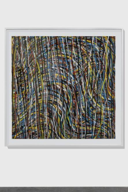 Sol LeWitt, 'Wavy Brushstrokes', 1995