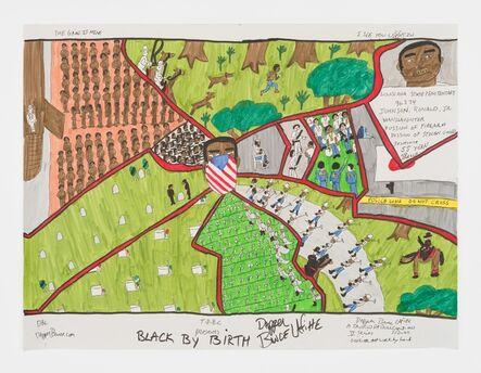 Dapper Bruce Lafitte, 'T.D.B.C. Presents Black By Birth', 2020