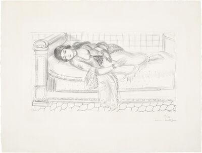 Henri Matisse, 'Orientale sur lit de repos, sol de carreaux rouges (Oriental Day Bed, Red Tiled Floor)', 1929