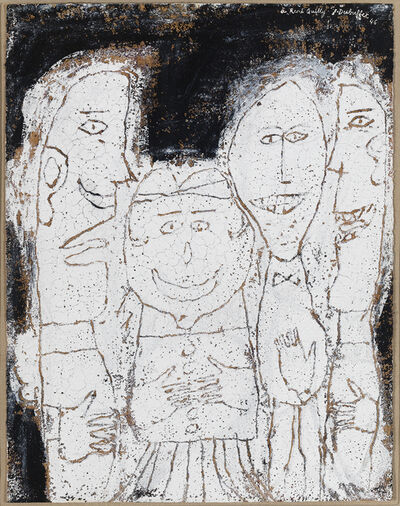 Jean Dubuffet, ' Quatre personnages (Four Figures)', ca. 1946