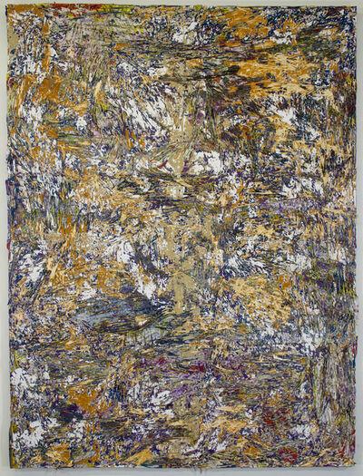 Jacin Giordano, 'cut painting 76', 2016
