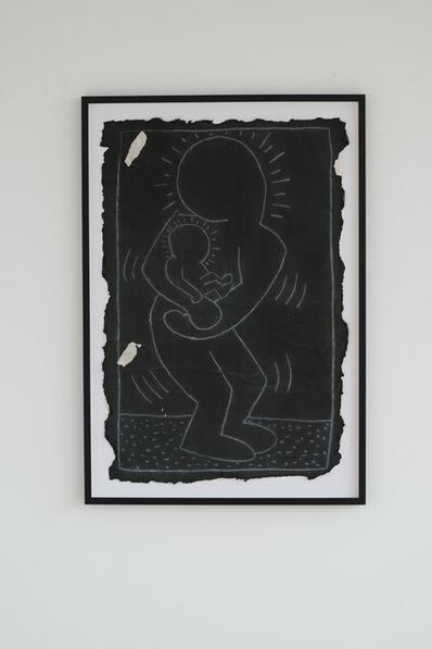 Keith Haring, 'Subway Drawing', 1980-1983