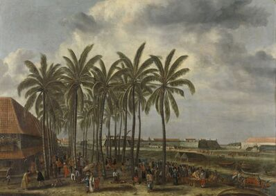 Andries Beeckman, 'The Castle of Batavia', 1661
