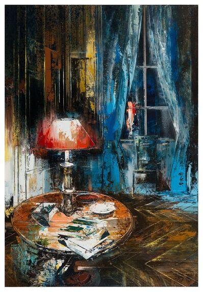 John Monks, 'The Red Lamp', 2017
