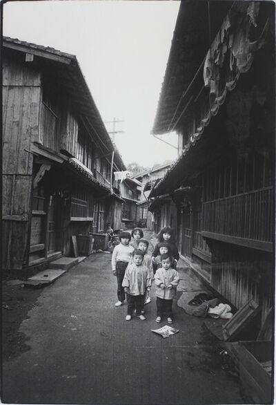 Kazuo Kitai, 'Children of the Long House, Hirado, Nagasaki (Somehow Familiar Places series)', 1972