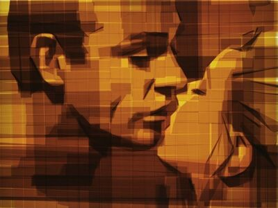 Mark Khaisman, 'Bond Kiss', 2013