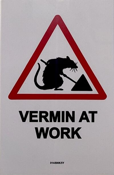 Banksy, 'Vermin At Work', 2004