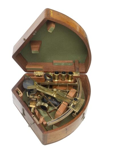 'Sextant and Case', c. 1865