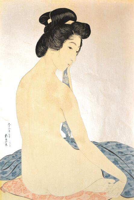 Goyo Hashiguchi, 'Woman After Bath', 1920