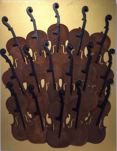 Arman, 'Accumulation de Violons', 1999