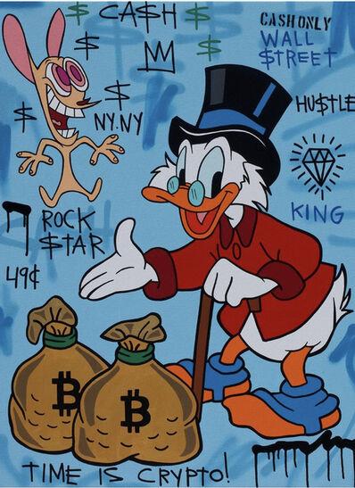 A. Gomez, 'A. Gomez, Crypto Scrooge', 2021