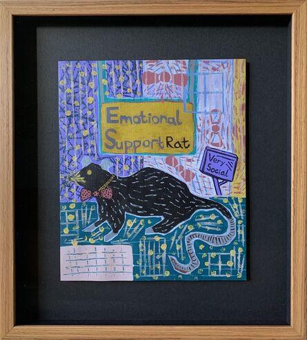 Ariel Cohen, 'Emotional Support Rat', 2020