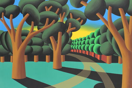 Oleg Khvostov, 'Green Landscape', 2017