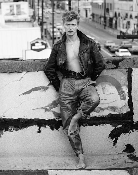 Herb Ritts, 'David Bowie', 1987
