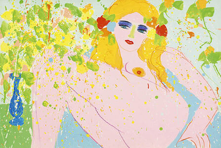 Walasse Ting 丁雄泉, 'Love Me, Love Me 10044', 1975