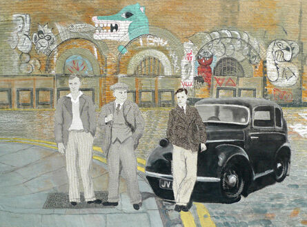 Sue Stone, 'The Boys Go To London Town', 2014