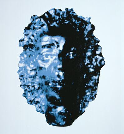 George Condo, 'Blue Waternymph Medallion', 2002