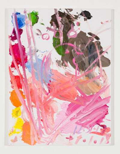 Ann Craven, 'Untitled (Pink Canary, Sunset with Snow), 2017-2018', 2017-2018