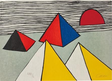 Alexander Calder, 'Untitled, from La Mémoire elémentaire (Elementary Memory)', 1975-76