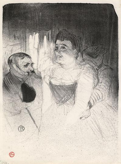 Henri de Toulouse-Lautrec, 'Judic', 1894