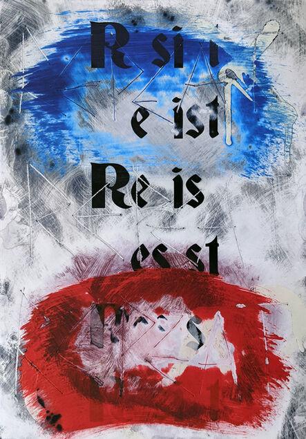 Zavier Ellis, 'Resist (Repeat) II (Tricolour)', 2021
