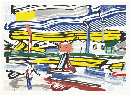 Roy Lichtenstein, 'The River, from Landscapes', 1985