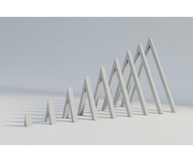 Norberto Puzzolo, 'Pirámide virtual con visión exterior e interior', 1967