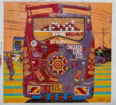 Dennis Muraguri, 'Beat Port (back), Ongata Line Sacco', 2019