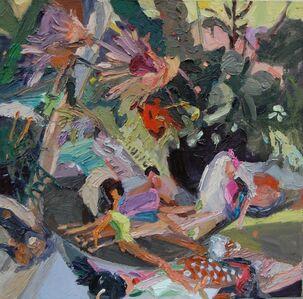 Gulgun Aliriza, 'Untitled (Bathers)', 2010